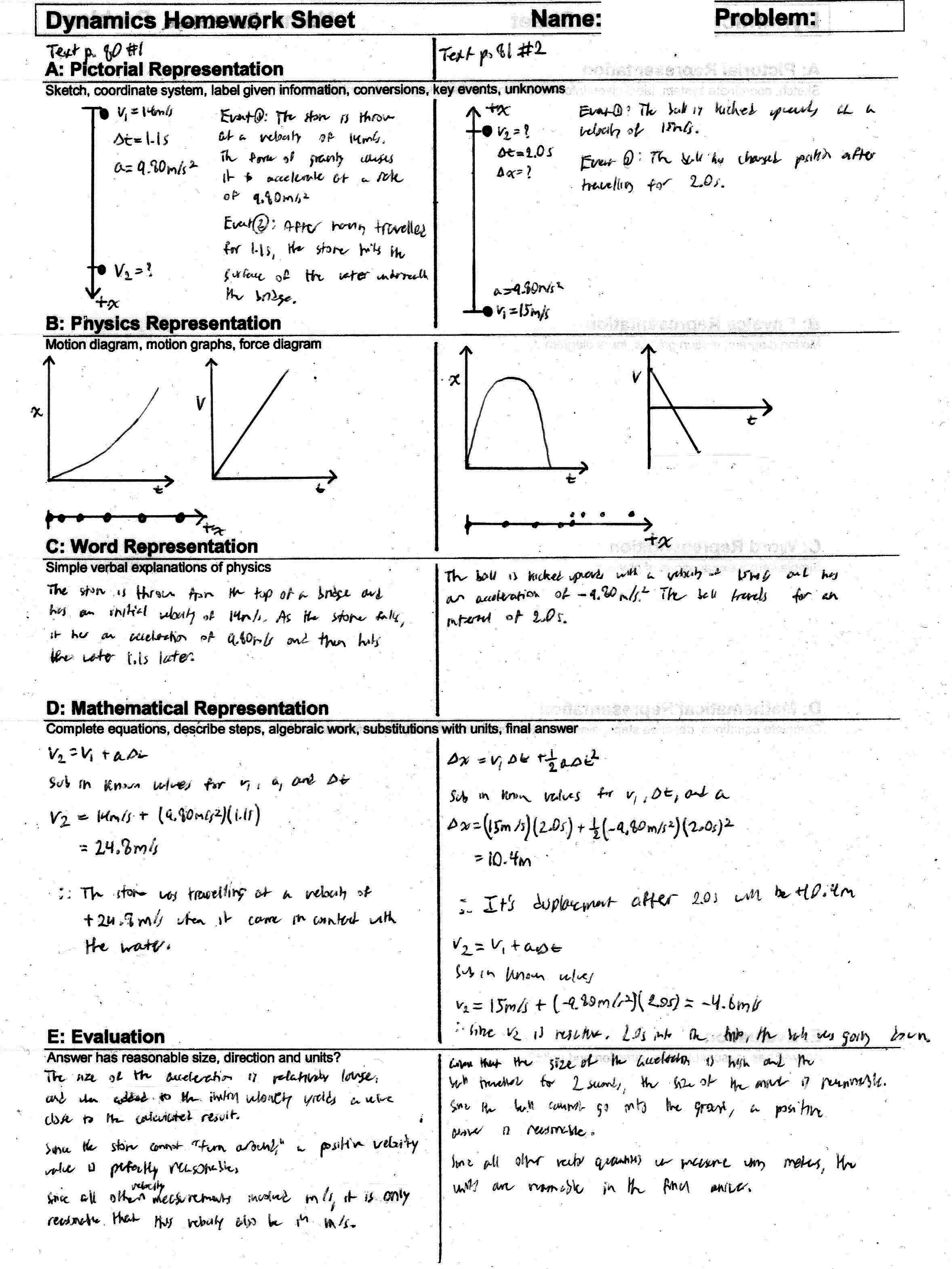 help on physics homework